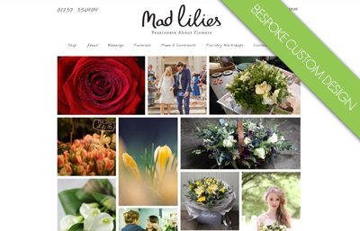 Mad Lilies Website